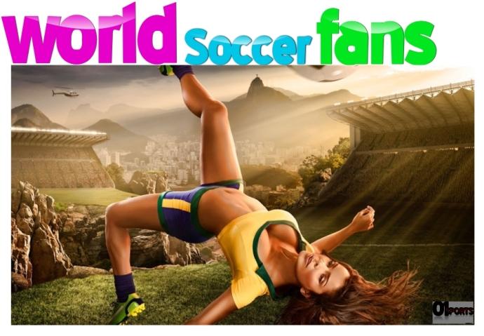 World soccer fans Cover