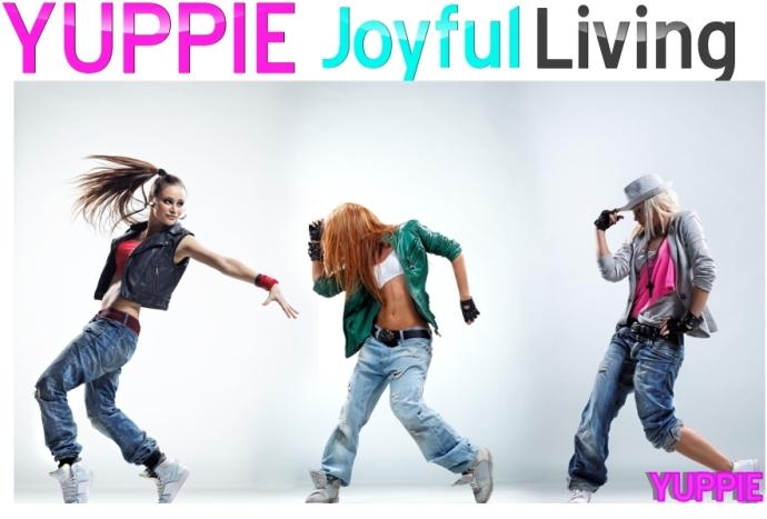 yuppie Joyful Living Cover