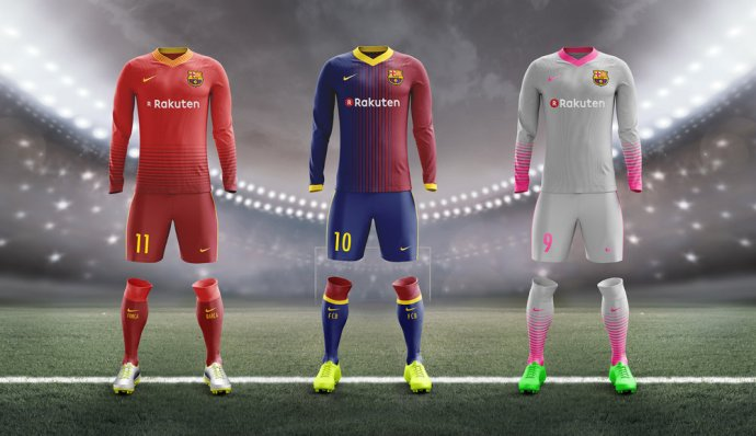Image result for FC barcelona new kits 2018