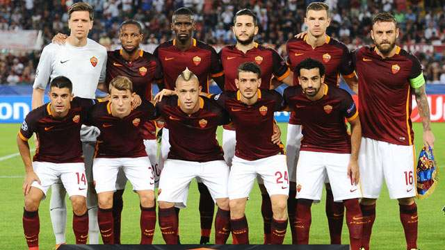 Image result for As roma squad 2017